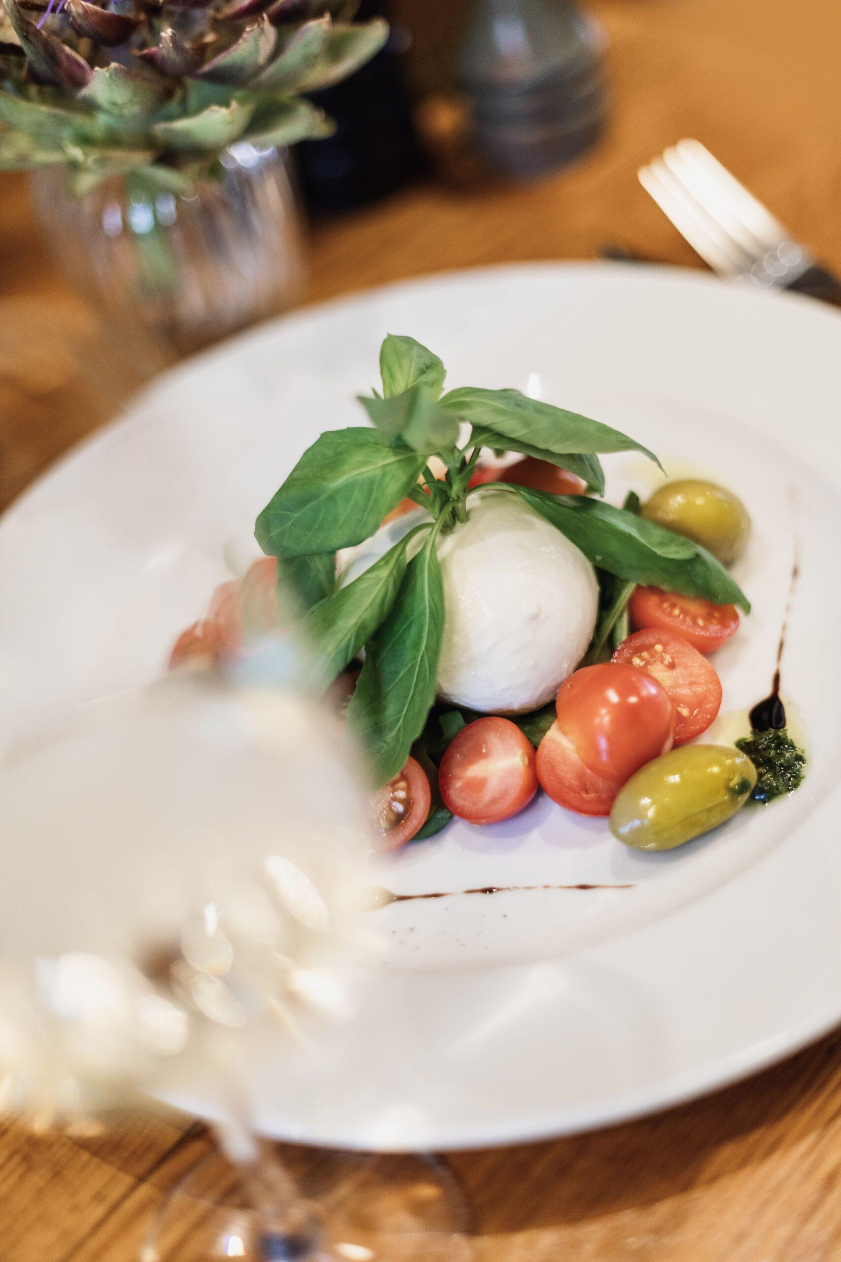 Cantinetta Vorspeise Büffelmozerella mit Tomate