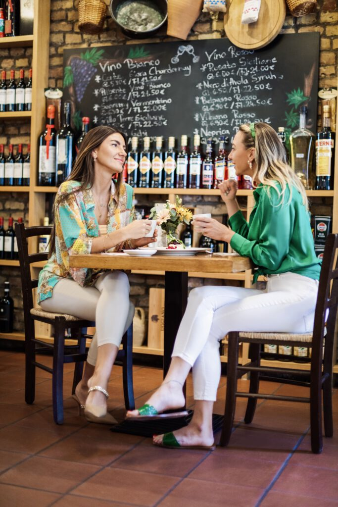 Cantinetta Gäste trinken Café